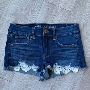 American Eagle Shorts with Lace